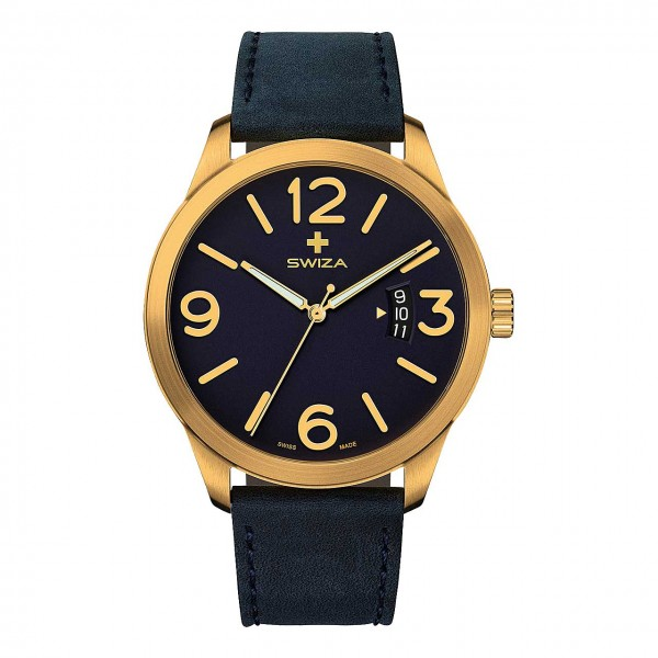 Armbanduhr MAGNUS PVD gold