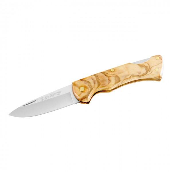 Taschenmesser, AN.58 Stahl, OlivenholzGriffschalen