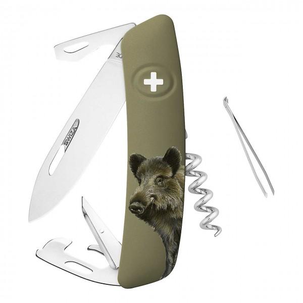 Taschenmesser D05 Wildschwein