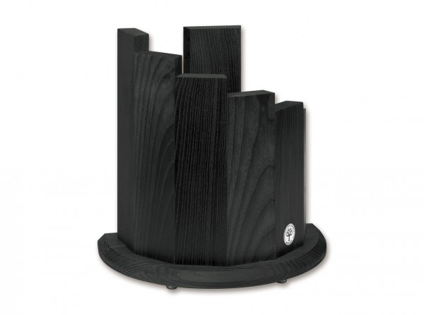 Messerblock Circle Black