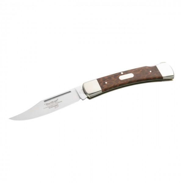Taschenmesser, Stahl 1.4110, Schlangenholz,