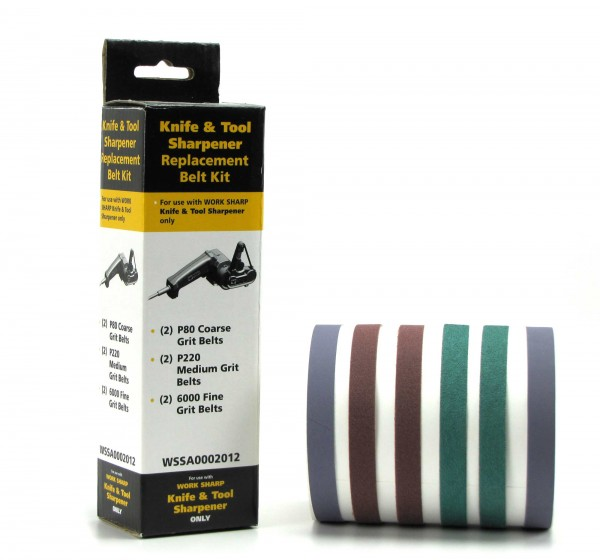 Schärfband-Sortiment 80 / 220 / 6000